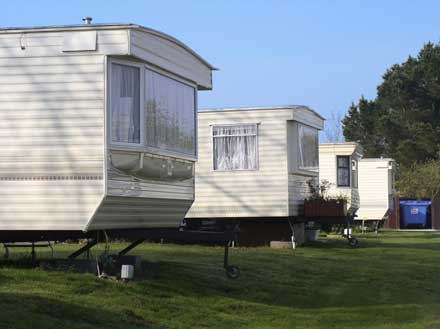 Caravan Park - One of the many land uses